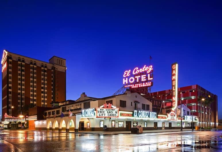 El Cortez Hotel and Casino, לאס וגאס, חזית המלון - ערב/לילה