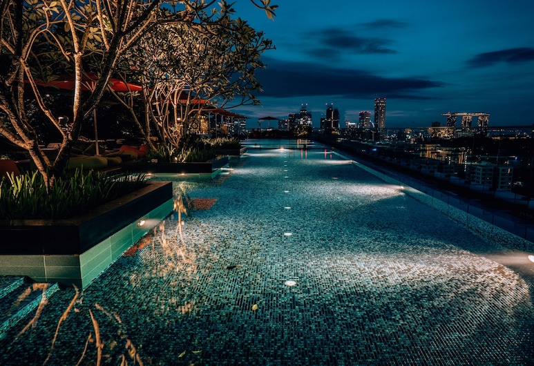 JEN Singapore Orchardgateway by Shangri-La, Singapore, Outdoor Pool
