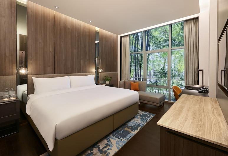 Amara Singapore (SG Clean), Singapura, Executive Room (Premium), Pemandangan Bilik Tamu