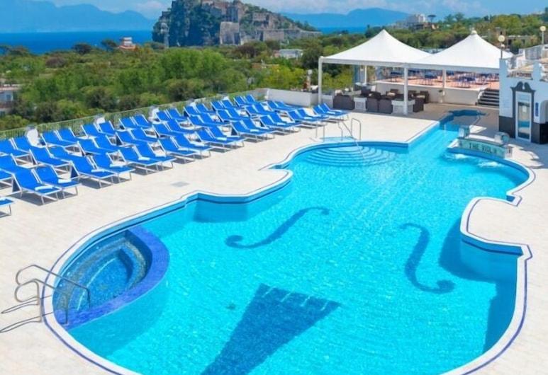 Hotel Terme President , Ischia, Kolam Terbuka