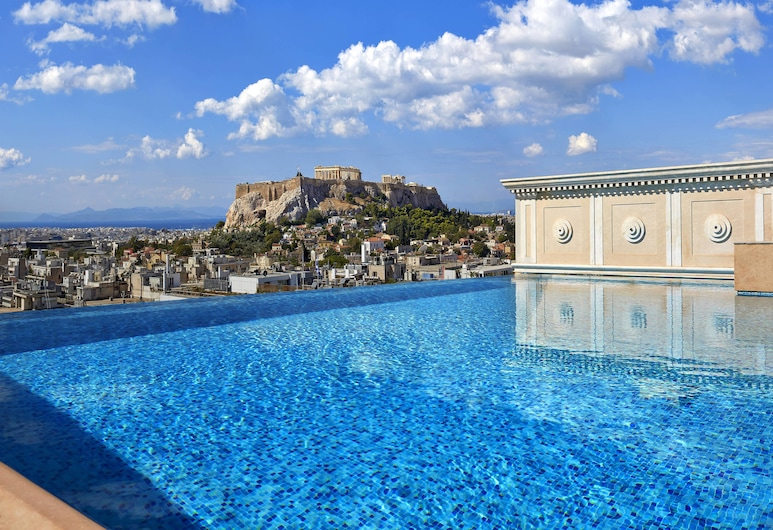 King George, a Luxury Collection Hotel, Athens, Atėnai, Vaizdas iš svečių kambario