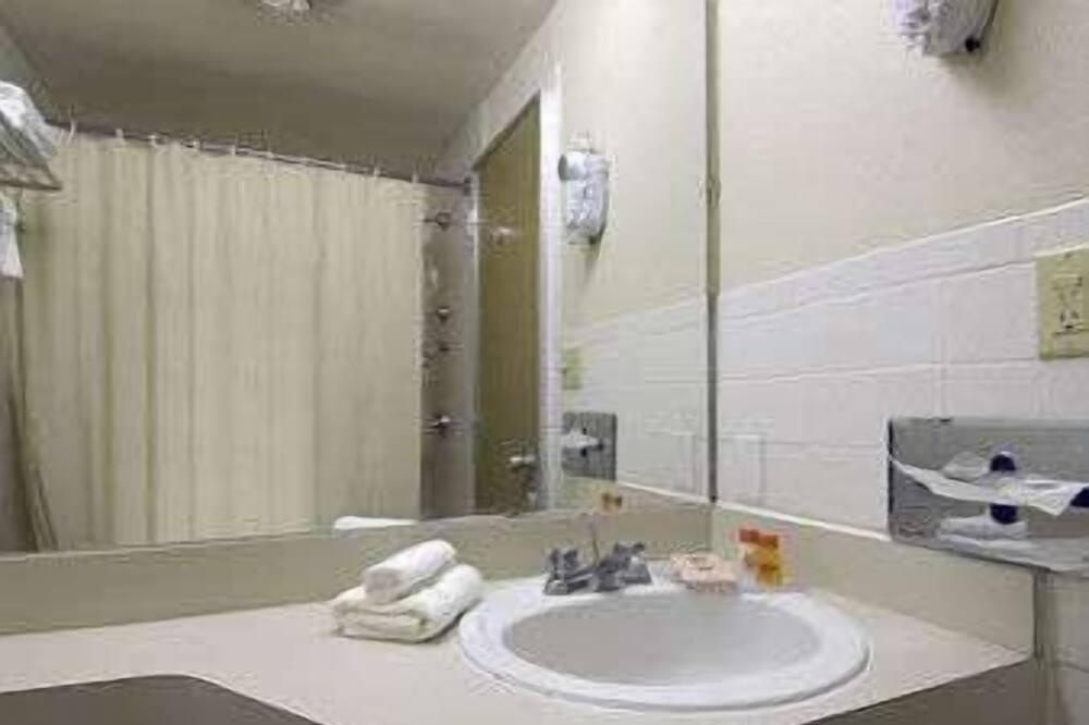 ห้องพัก, เตียงใหญ่ 2 เตียง, สูบบุหรี่ได้ - ห้องน้ำ