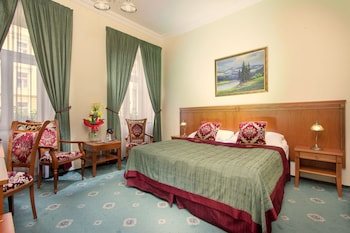 Praga — zdjęcie hotelu Green Garden Hotel