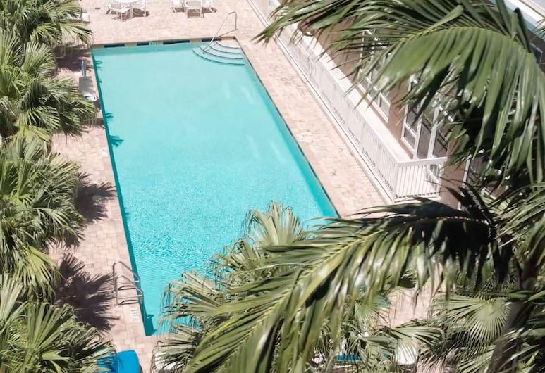 Hampton Inn by Hilton Hallandale Beach Aventura, Hallandale Beach, Piscine en plein air
