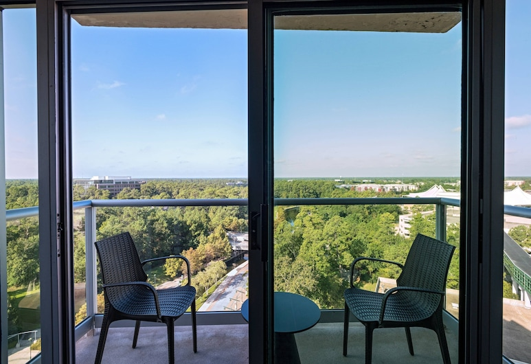 The Woodlands Waterway Marriott Hotel & Convention Center, The Woodlands, Room, 1 King Bed, Non Smoking, Guest Room