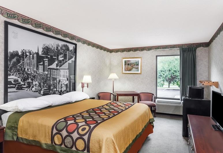 歐文溫德姆速 8 飯店, 爾文, 標準客房, 1 張特大雙人床, 吸煙房, 客房