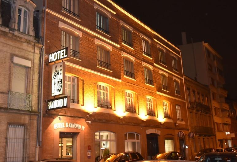 Hôtel Raymond 4 Toulouse, Toulouse, Pohľad na hotel – večer/v noci
