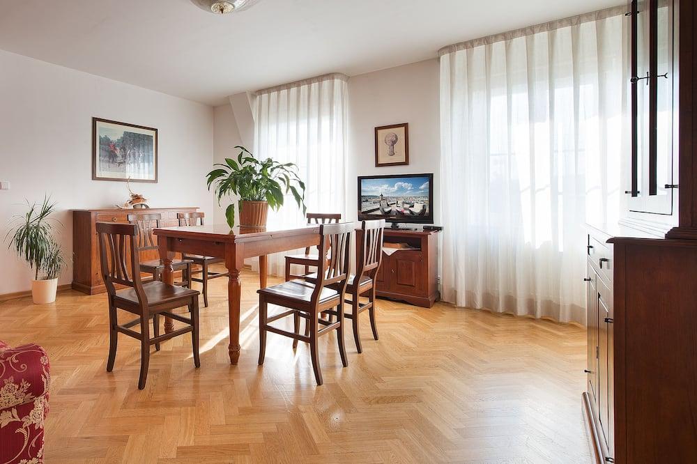 Suite, Stadtblick - Wohnbereich