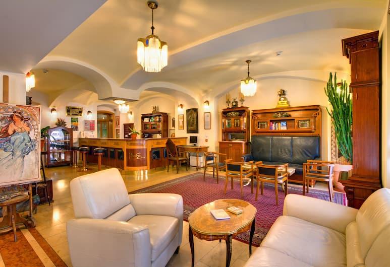 Hotel Mucha, Praha, Eteisaula