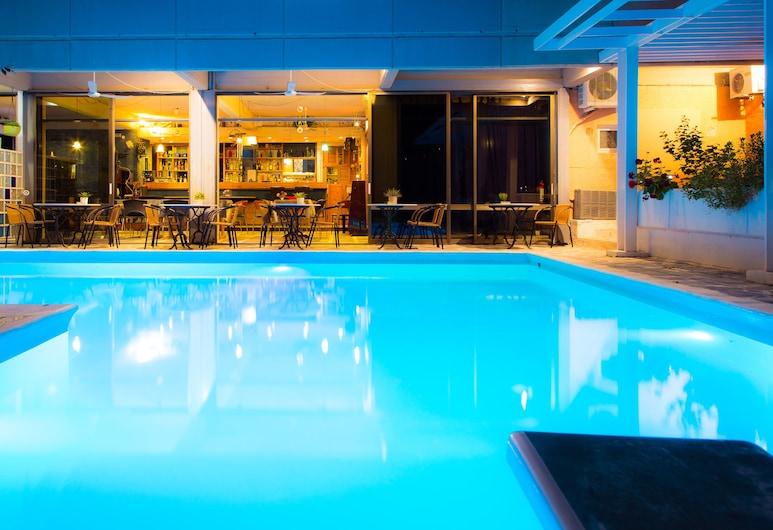 Apollonia Hotel Apartments, Vari-Voula-Vouliagmeni, สระว่ายน้ำกลางแจ้ง