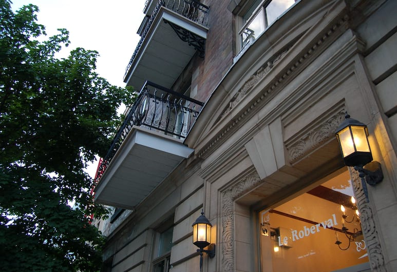Hotel Le Roberval, Montreal, Exterior