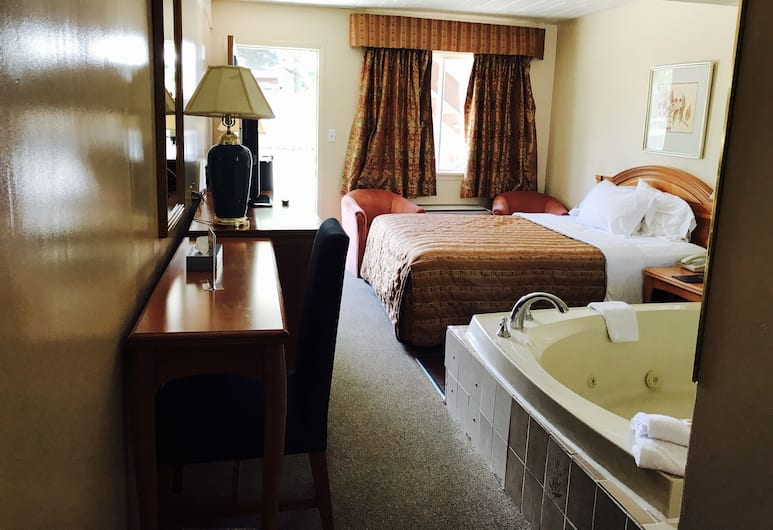 Sunset Inn, Niagara Falls, Standard Room, 1 Queen Bed, Jetted Tub, Guest Room