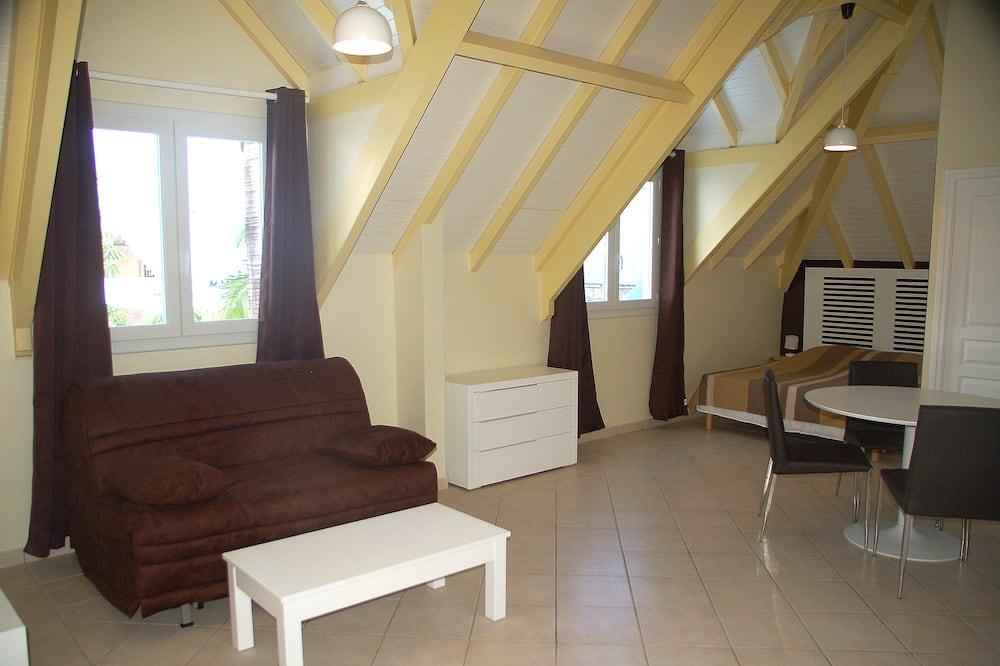 Štúdio typu Comfort - Obývacie priestory