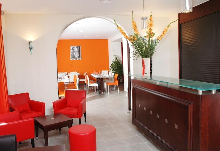 Hotel Azurea, Nice, Hotel Lounge