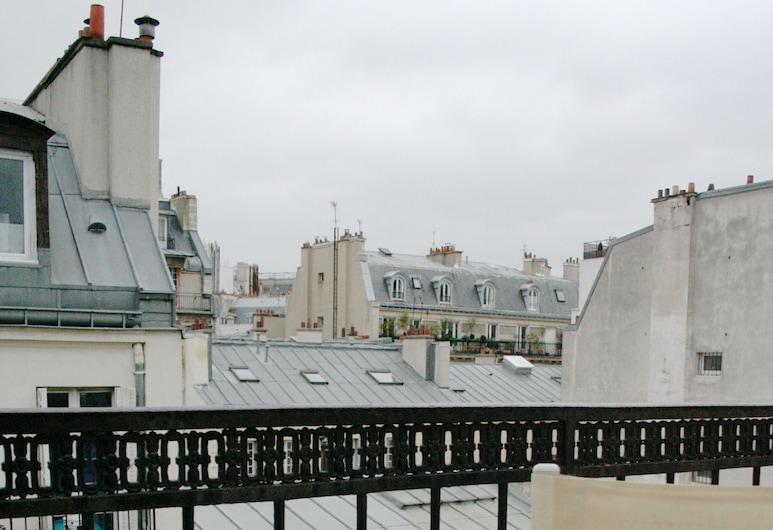 Hotel Migny Opera Montmartre, Pariisi, Kahden hengen huone, Parveke