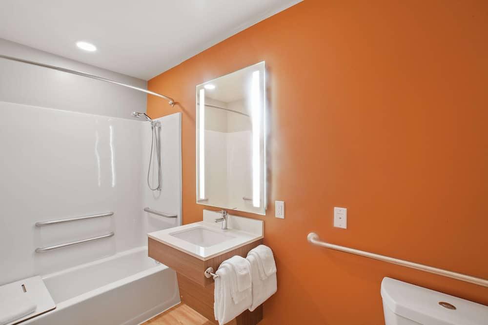 開放式客房, 1 張加大雙人床, 非吸煙房 - 浴室