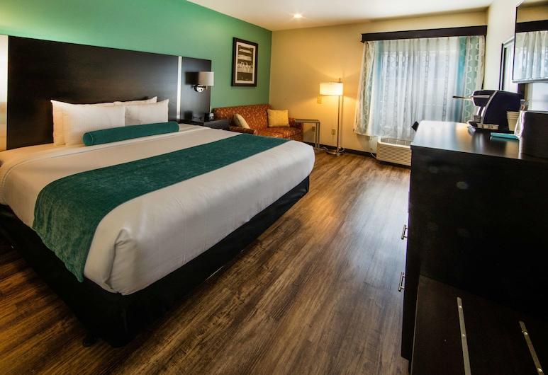 Best Western Plus Duluth / Sugarloaf, Duluth, Standard Room, 1 King Bed, Accessible, Refrigerator & Microwave, Guest Room
