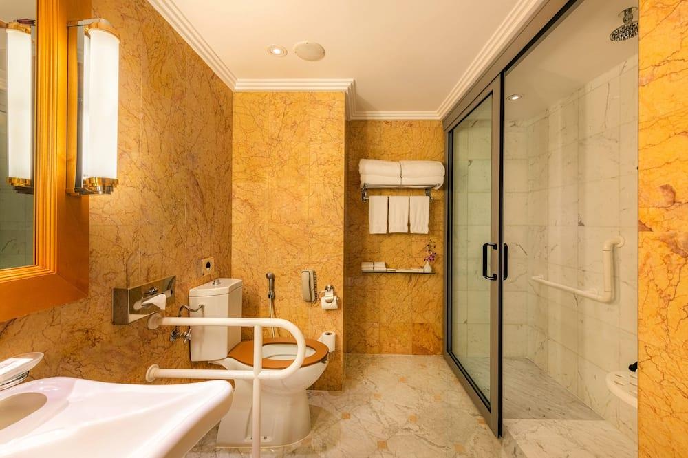 Phòng Deluxe, 1 giường cỡ king, Không hút thuốc - Phòng tắm