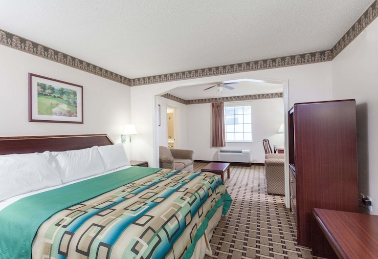Days Inn & Suites by Wyndham Huntsville, Хантсвіль, Студія-люкс, 1 ліжко «кінг-сайз», для некурців, Номер