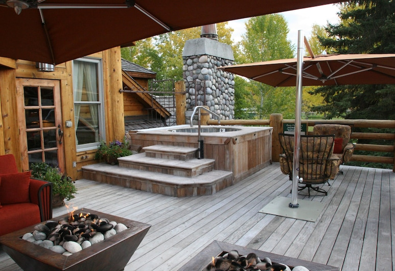 Rusty Parrot Lodge and Spa, Jackson, Terrace/Patio