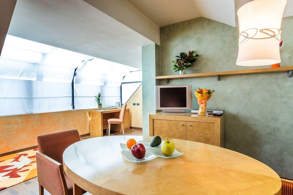 Apartmá typu Executive - Obývací prostor