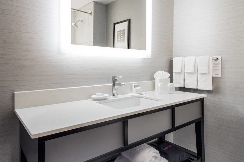 行政客房, 1 張特大雙人床, 非吸煙房 - 浴室