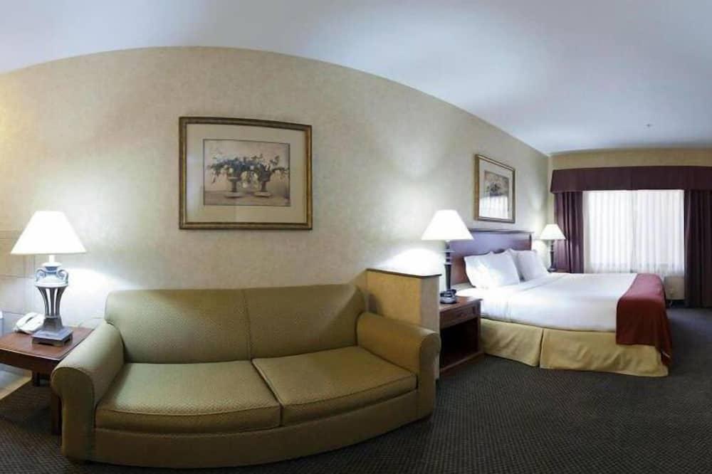 Phòng Deluxe, 1 giường cỡ king, Phù hợp cho người khuyết tật, Không hút thuốc (Hearing) - Khu phòng khách