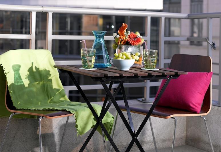 Thon Residence Parnasse, BRUSEL, Apartmán, 1 spálňa (Street View), Terasa