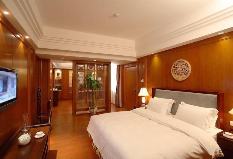 Oriental Garden Hotel, Peking, Deluxe-Zimmer, 1King-Bett (EQC), Zimmer