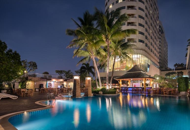 プリンス パレス ホテル, バンコク, プールサイド バー
