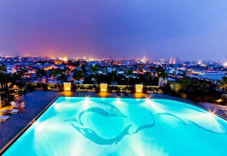 プリンス パレス ホテル, バンコク, 屋外プール
