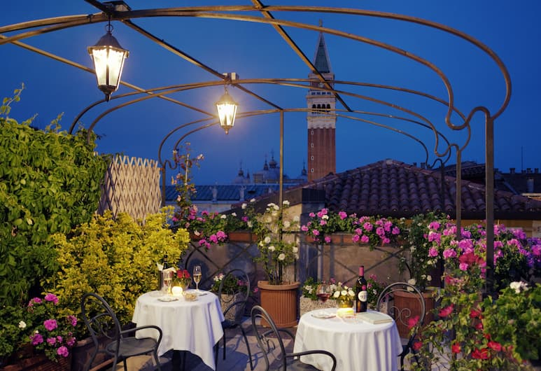 Hotel Firenze, Venezia, Terrazza/Patio