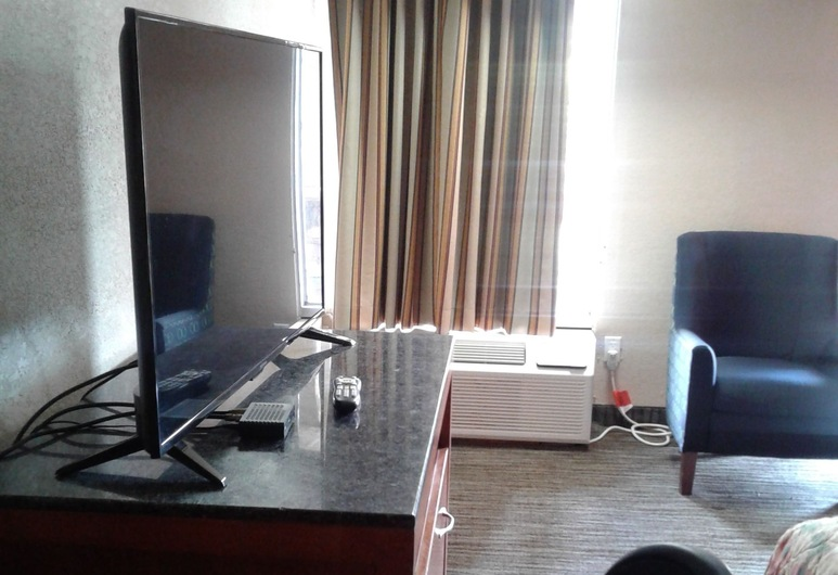 Budget Inn Express, Anderson, Standard Room, 1 King Bed, Non Smoking, Guest Room