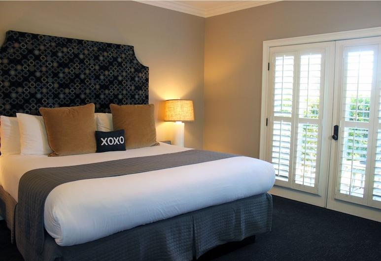 Bel Abri Napa Valley Inn, Napa, Standardna soba, 1 king size krevet, trijem, prizemlje, Soba za goste