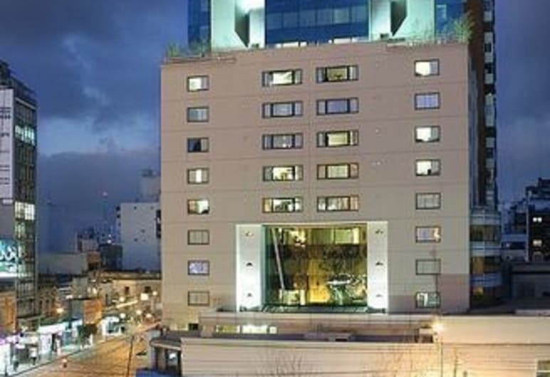 Abasto Hotel, Buenos Aires, Fachada do Hotel - Tarde/Noite