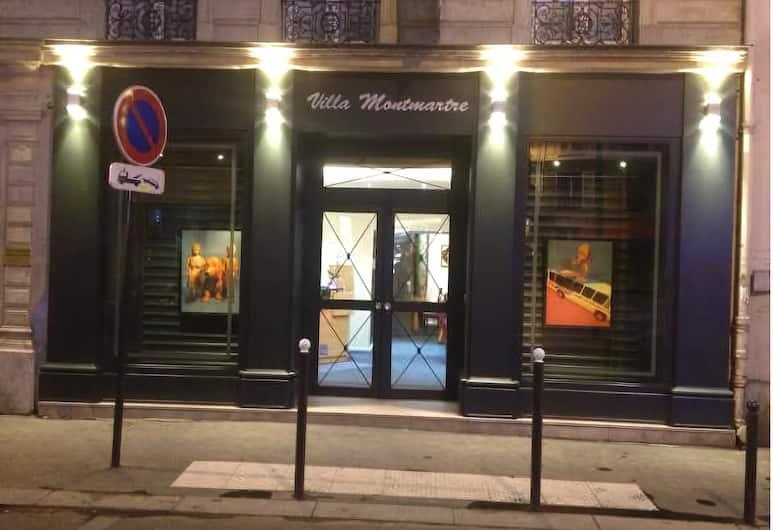 Villa Montmartre, Pariis, Sissepääs