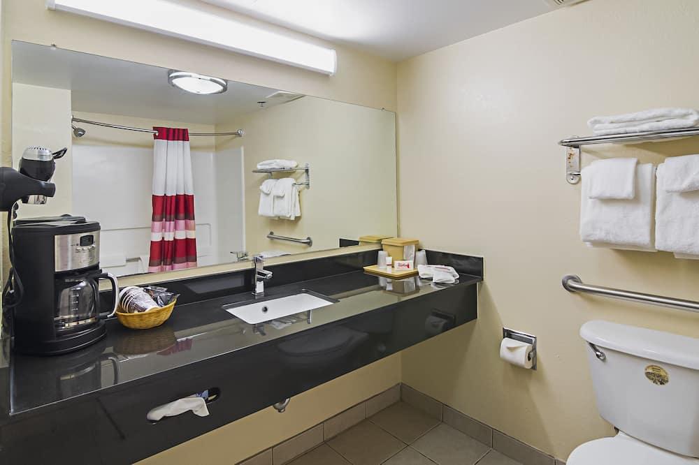 ห้องซูพีเรีย, เตียงคิงไซส์ 1 เตียง, ปลอดบุหรี่ - ห้องน้ำ