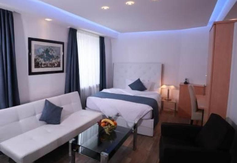 Hotel Savoy Bonn, Bonn, Single Room, Bilik Tamu