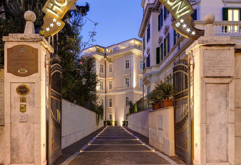 호텔 빌라 모르가니, 로마