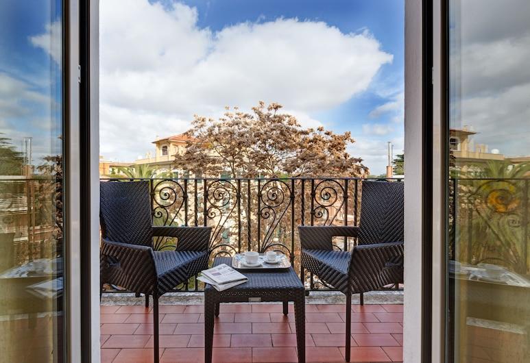 Hotel Villa Morgagni, Roma, Suite junior, Terraza o patio