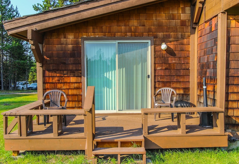 Timbers at Island Park Village Resort, איילנד פארק, דירה, חדר שינה אחד, מרפסת/פטיו