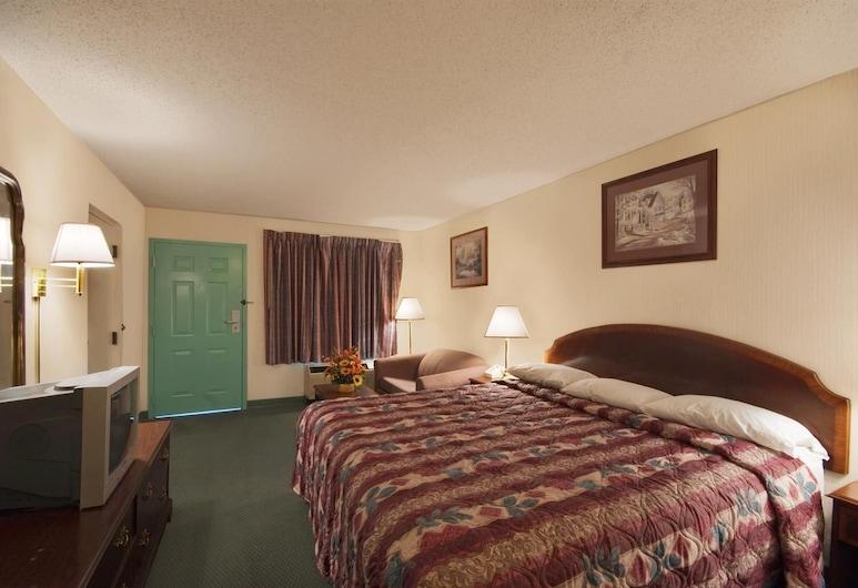 Americas Best Value Inn & Suites Mobile, Мобайл, Номер, 1 ліжко «кінг-сайз», ванна з гідромасажем, Номер
