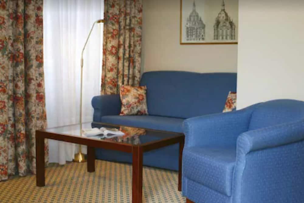 Standard Single Room - Living Area