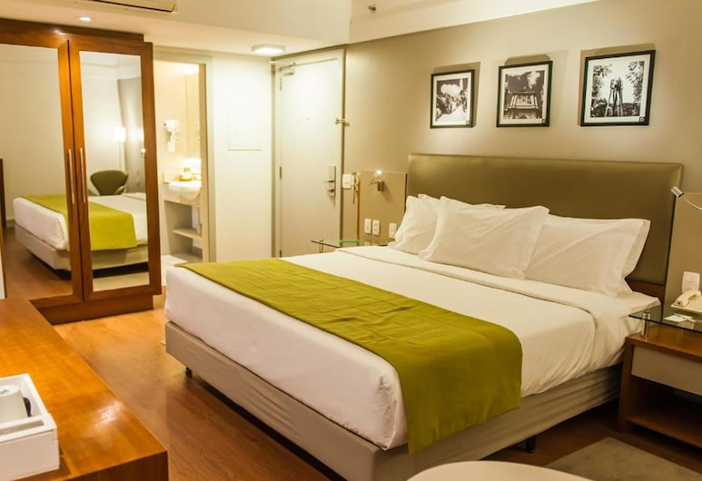 Quality Hotel Porto Alegre, Porto Alegre, Deluxe dubbelrum, Gästrum