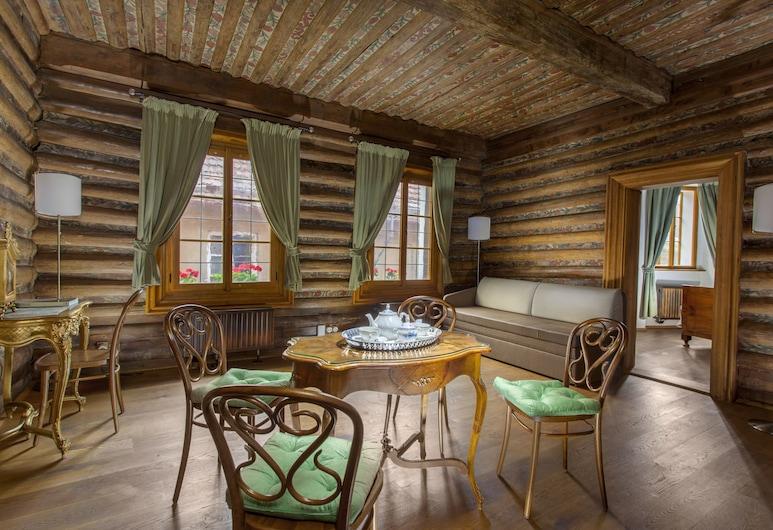 Hotel U Zeleného Hroznu, Praga, One Bedroom Suite, Sala