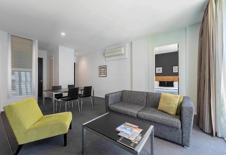 Mantra 100 Exhibition, Melbourne, Apartamento, 2 quartos, Área de estar