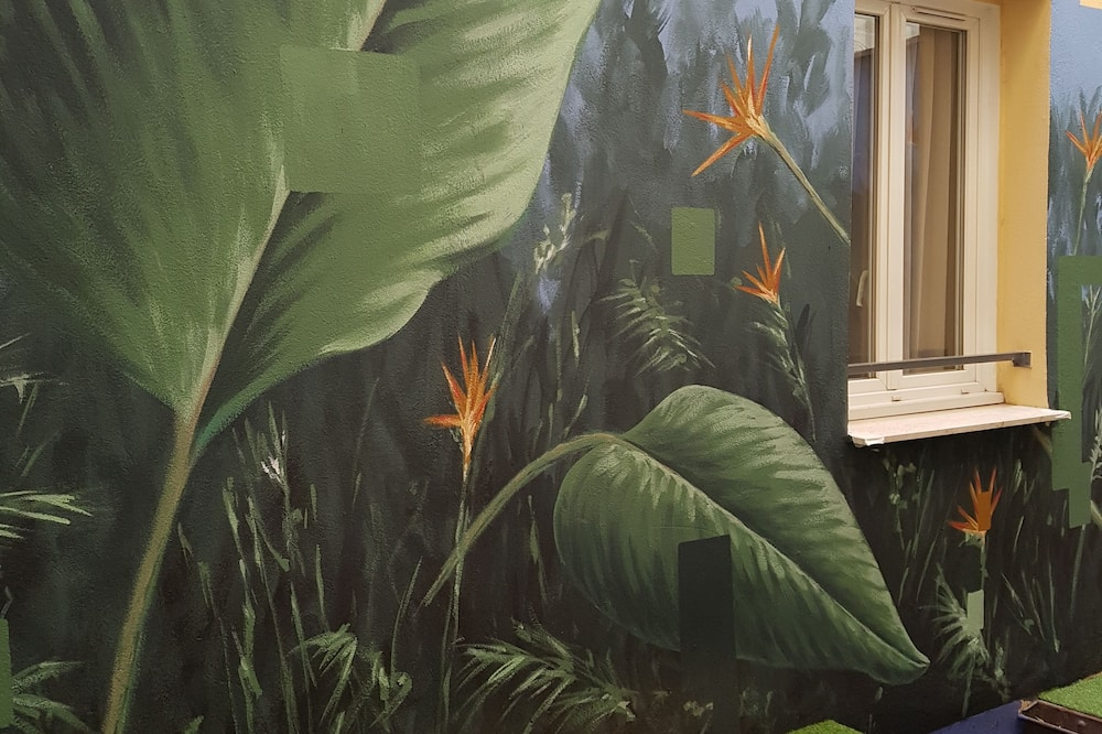 標準雙人房, 非吸煙房, 城市景觀 - 庭園景觀