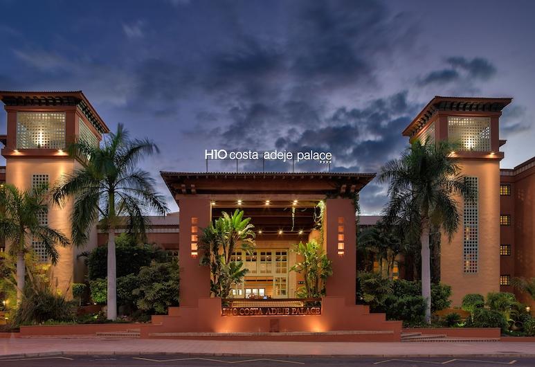 H10 Costa Adeje Palace, Adeje, Hotellets facade - aften/nat
