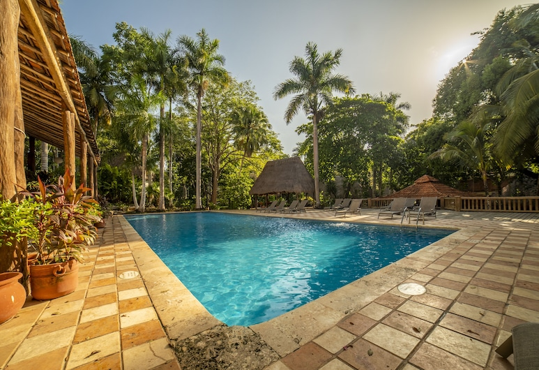 Mayaland Hotel And Bungalows, Chichen Itza, Outdoor Pool