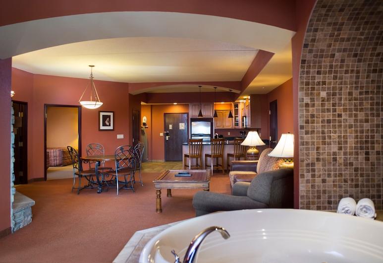 Chula Vista Resort, Trademark Collection by Wyndham, Wisconsin Dells, Deluxe Condo, 2 Bedrooms, Living Room